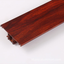 Hebei Factory Wood Color Thermal Break Profil Aluminium